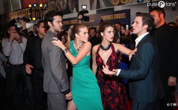 Baston et tensions dans le prochain épisode de 90210