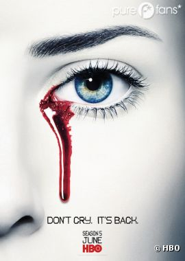 Le premier poster teaser de la saison 5 de True Blood