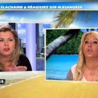 """Les Anges 4 : Cindy Lopes VS Loana """"l'écervelée"""" : le clash continue !"""