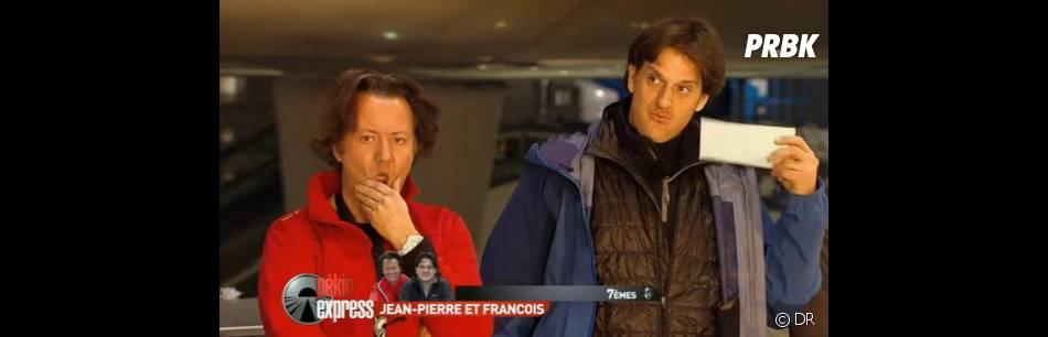 Jean-Pierre et François découvrent qu'ils arrivent en septième position et qu'ils ne sont finalement pas éliminés