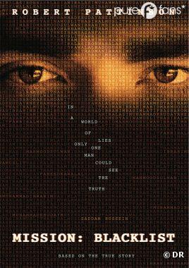 L'affiche de Mission : Blacklist, le prochain film de Robert Pattinson