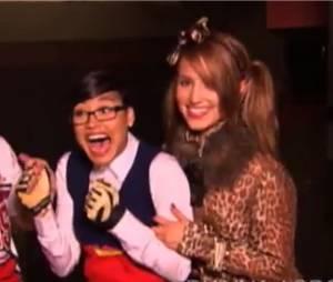On s'éclate sur le tournage de Glee