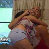 Les Anges de la télé réalité 4 : baston de bisous pour Nabilla et Sofiane