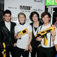 Men In Black 3 : les One Direction prêts à aider Will Smith ! (PHOTOS)
