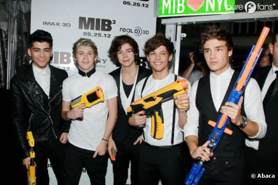 Les One Direction prêts à aider Will Smith !