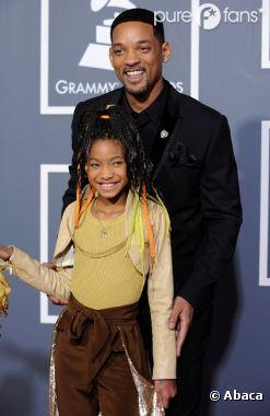 Will Smith est un vrai papa poule avec sa petite Willow !