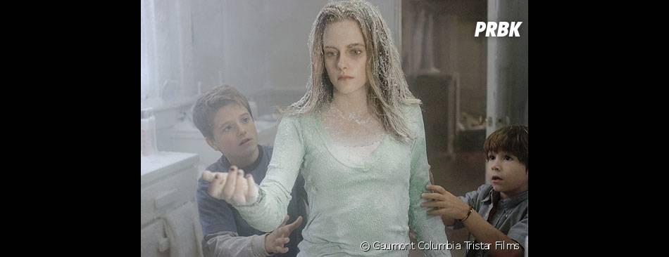 Kristen Stewart et Josh Hutcherson dans le film Zathura en 2005