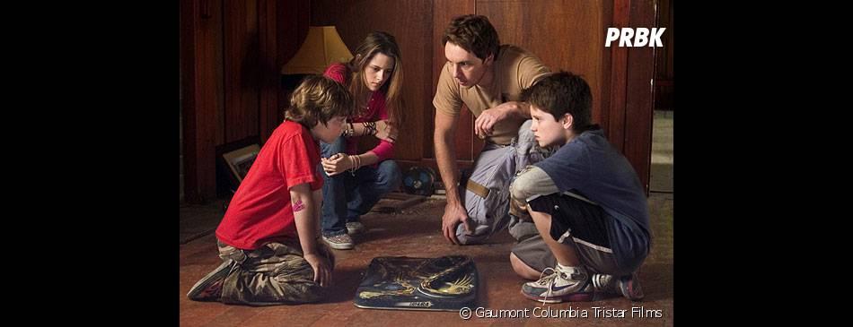 Kristen Stewart et Josh Hutcherson dans Zathura