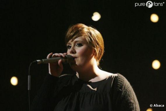 Adele future maman !