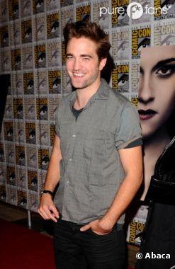 Robert Pattinson, difficile de devenir papa à l'écran