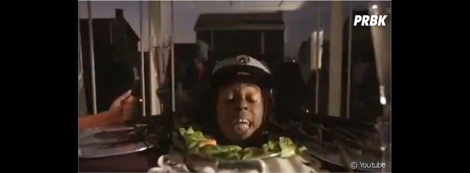 Lil Wayne signe là un de ses clips les plus extravagants