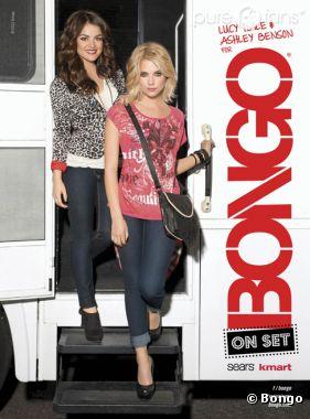 Ashley Benson et Lucy Hale, les égéries sexy de Bongo