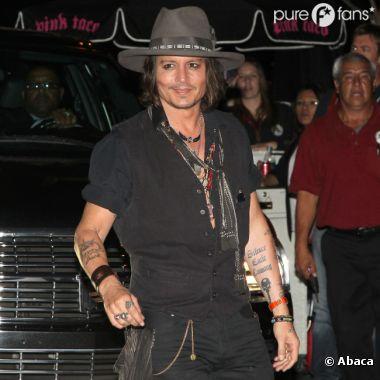 Première sortie pour Johnny Depp depuis son divorce