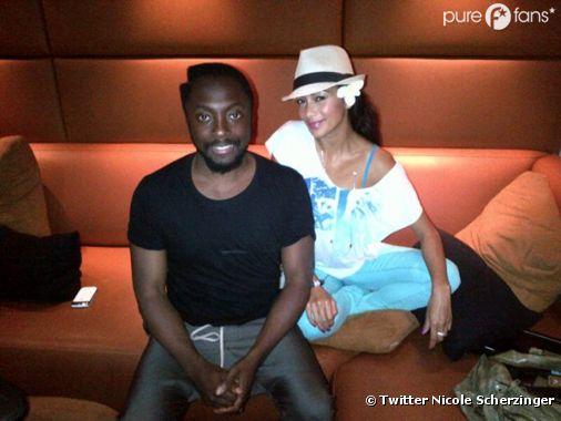 Will.i.am et Nicole Scherzinger se retrouvent en studio