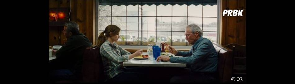 Super ambiance entre Clint Eastwood et Amy Adams !