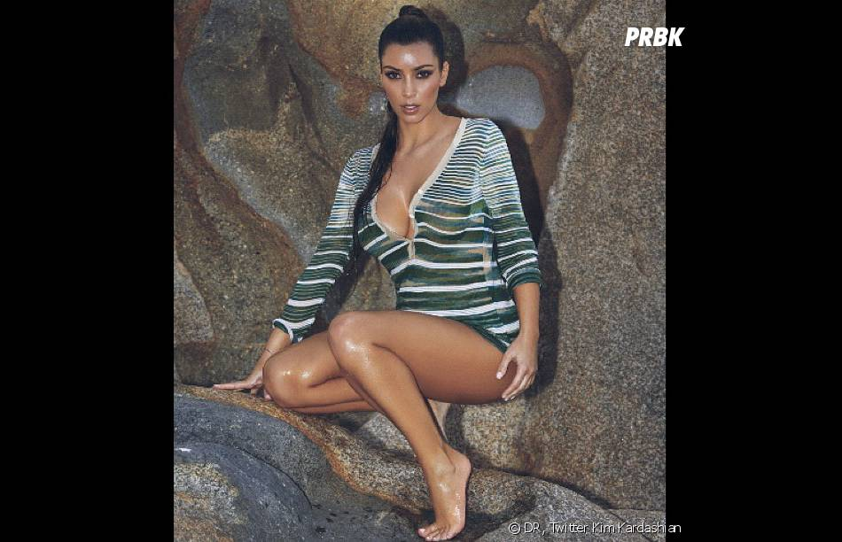 Kim Kardashian attise la curiosité...