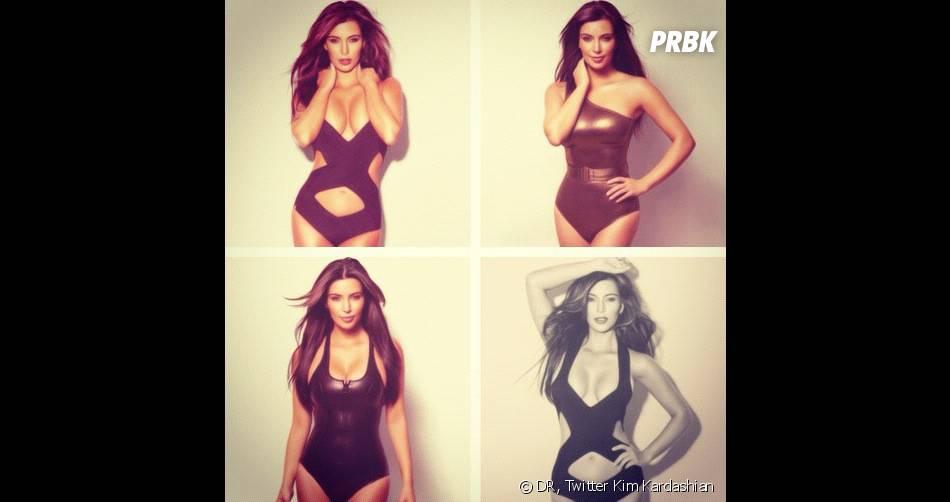 Kim Kardashian kiffe se montrer en maillot de bain !