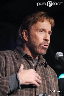 Chuck Norris a fait réagir sur Twitter
