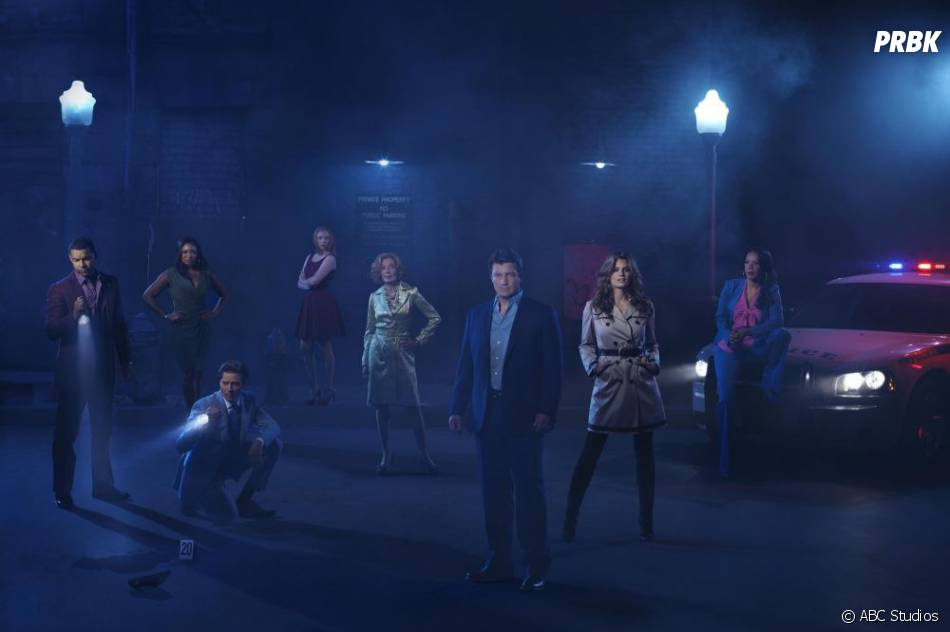 Tous les acteurs de  Castle  réunis !