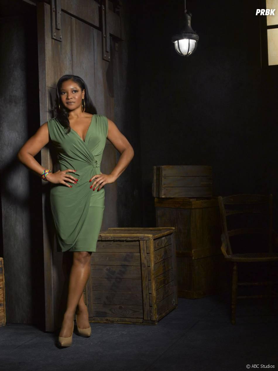 Photo promo de Tamala Jones pour la saison 5 de  Castle
