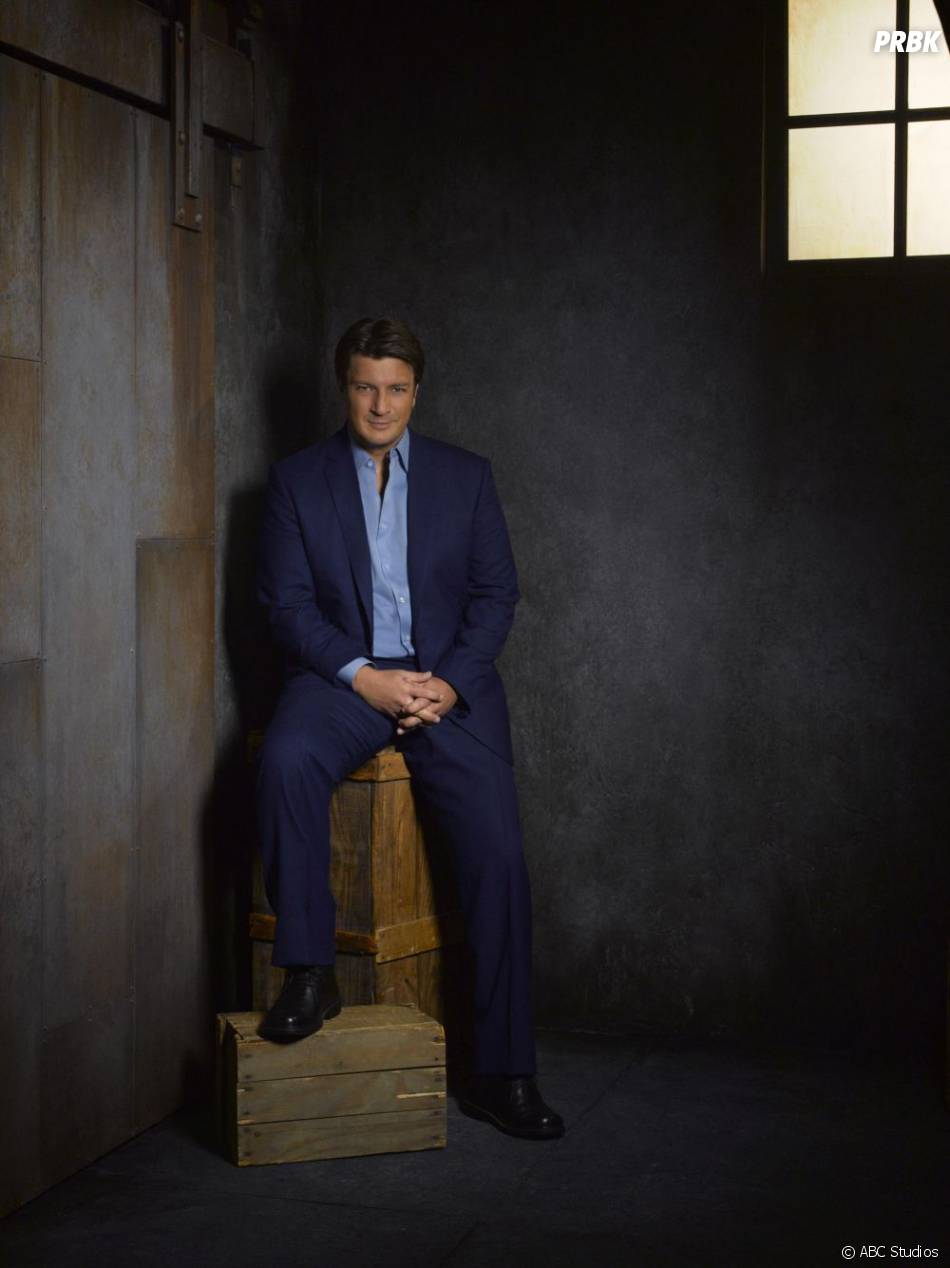 Photo promo de Nathan Fillion pour la saison 5 de  Castle