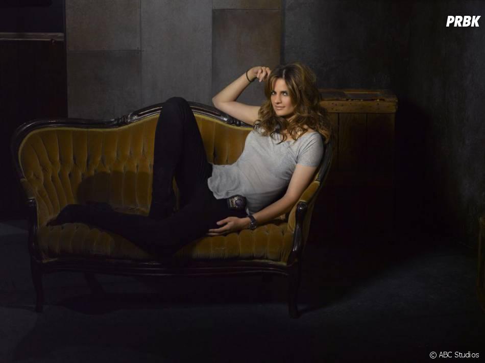 Photo promo de Stana Katic pour la saison 5 de  Castle