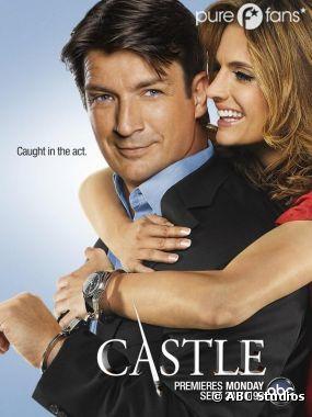 Premier poster pour la saison 5 de Castle