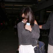 Selena Gomez en mode pyjama : bye-bye glamour pour son retour à Los Angeles ! (PHOTOS)