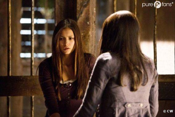 Elena pas rassurée dans l'épisode 1 de la saison 4 de Vampire Diaries