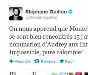 Stéphane Guillon se mêle de la polémique sur Twitter