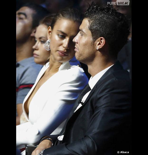 Cristiano Ronaldo, heureux grâce à Irina Shayk