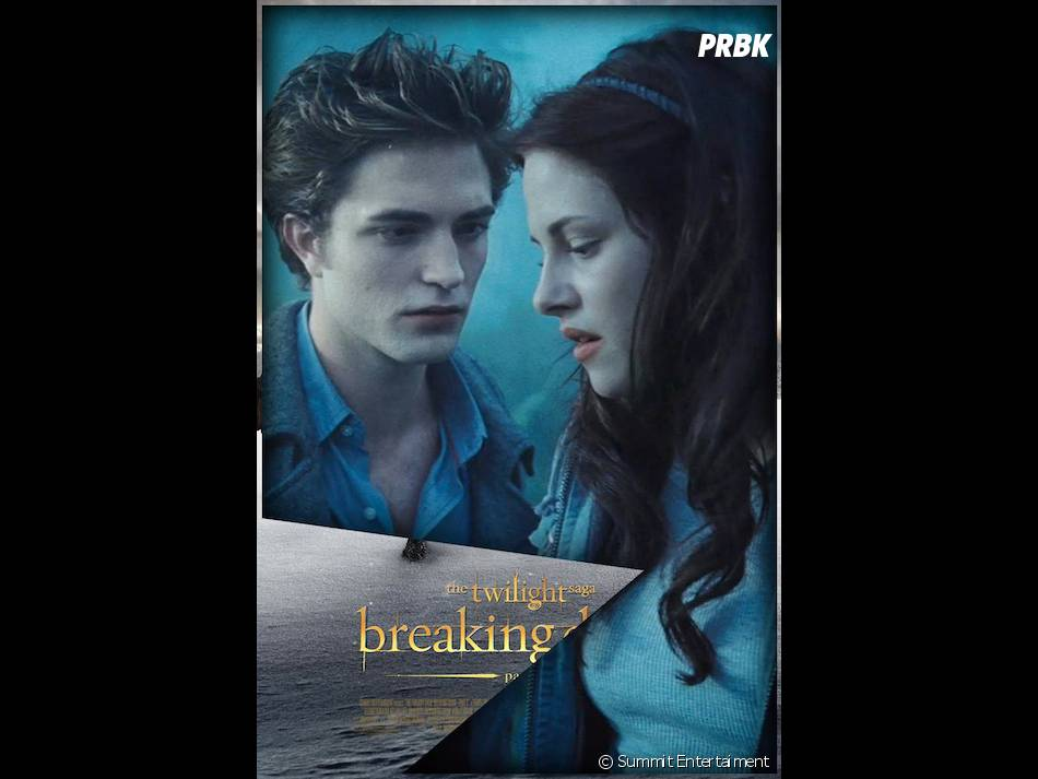 Robert Pattinson et Kristen Stewart dans le premier Twilight !