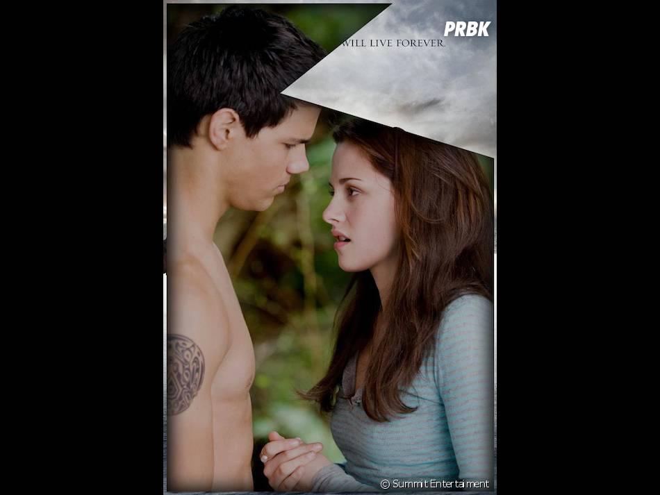 Jacob et Bella dans Twilight 2