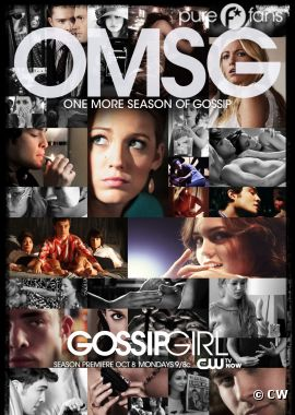 Nouveau poster souvenirs de la saison 6 de Gossip Girl !