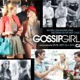 Le poster de la saison 5 de  Gossip Girl