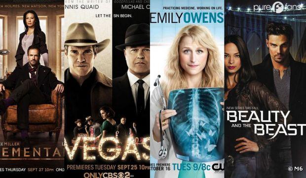 Elementary, Vegas, Emily Owens MD et Beauty and the Beast sont les 4 nouvelles séries d'M6