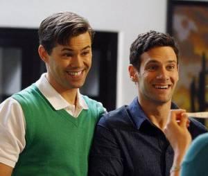 Matt Bomer jouera l'ex de Bryan (à gauche)