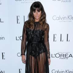 Lea Michele sexy et transparente pour la soirée ELLE (PHOTOS)