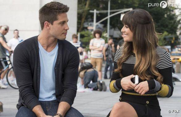 Rachel face à Brody dans Glee !