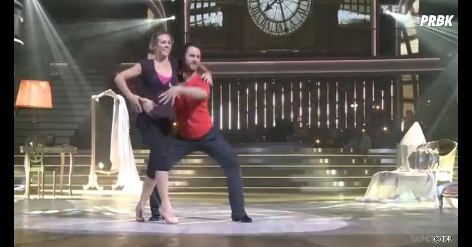 Lorie perd confiance dans Danse avec les stars 3