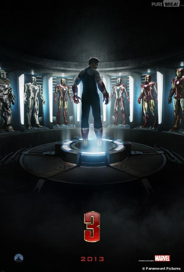 Affiche d'Iron Man 3