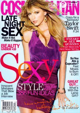 Taylor Swift en mode femme fatale dans Cosmo !