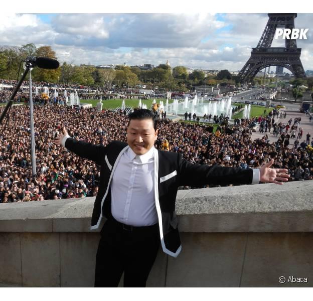 Psy à Paris pour une flashmob gigantesque !