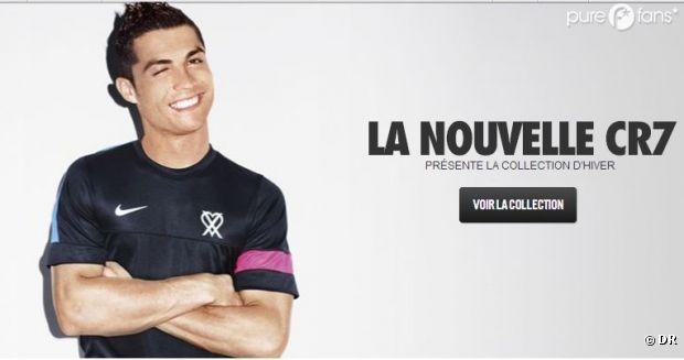 Cristiano Ronaldo lance sa collection sportwear !