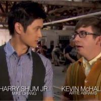 Glee saison 4 : dans les coulisses de l'épisode 6 spécial Grease ! (VIDEO)