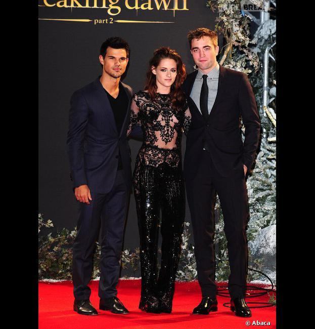 Les acteurs de Twilight à Londres !