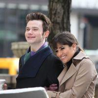 Glee saison 4 : Lea Michele et Chris Colfer, vrais BFF en tournage à New York ! (PHOTOS)