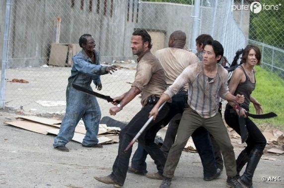 Nouveau survivant dans Walking Dead !