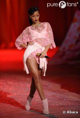 Rihanna a fait le plein de lingerie sexy