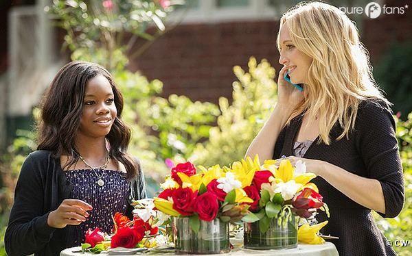 Gabby Douglas va jouer dans Vampire Diaries !